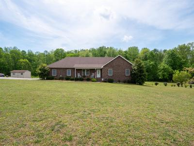 Robertson County Single Family Home Under Contract - Not Showing: 3139 Worsham Springs Rd