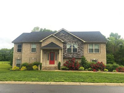 Clarksville Single Family Home Under Contract - Not Showing: 1575 Chapel Ridge Rd