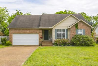 Spring Hill  Single Family Home Under Contract - Showing: 3017 Candlelite Dr