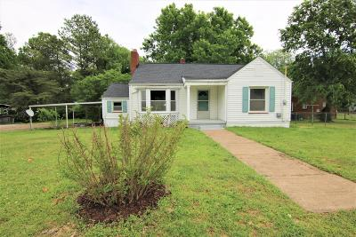 Mount Pleasant Single Family Home Under Contract - Showing: 206 S Cherry St