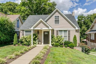 Green Hills Single Family Home Under Contract - Showing: 148 A Kenner Avenue