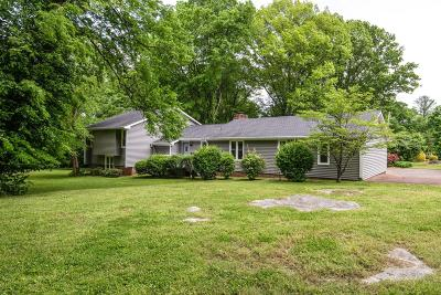 Brentwood Single Family Home Under Contract - Showing: 800 Cloverfield Ct