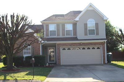Robertson County Rental Under Contract - Not Showing: 107 Williamsburg Dr.