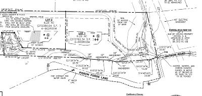Thompsons Station  Residential Lots & Land For Sale: 6000 Costello Farm Ln (1)