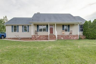 Rockvale Single Family Home Under Contract - Not Showing: 5404 Salemview Ct