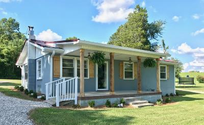 Smithville TN Single Family Home Under Contract - Not Showing: $159,900