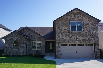 Clarksville Single Family Home For Sale: 145 Camelot Hills Lot # 145