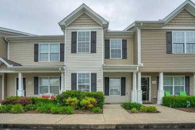 Murfreesboro Condo/Townhouse Active Under Contract: 1406 Bunny Ct