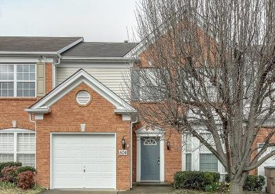 Brentwood TN Condo/Townhouse Under Contract - Showing: $334,900