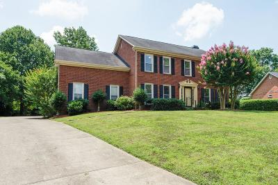 Davidson County Single Family Home For Sale: 5929 Fireside Dr