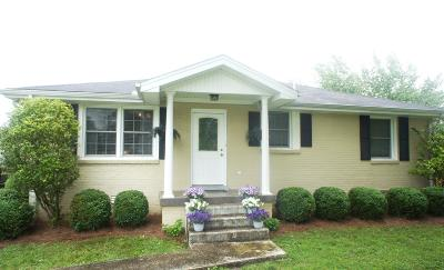 Smyrna Single Family Home Under Contract - Not Showing: 317 Breckinridge Dr