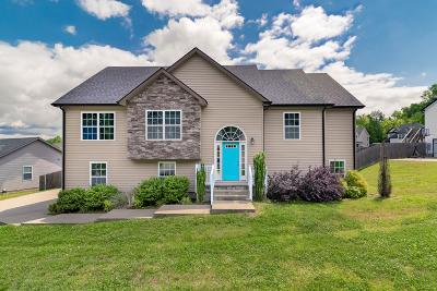 Clarksville Single Family Home Under Contract - Showing: 1193 Morstead Dr