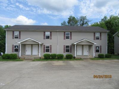 Clarksville Multi Family Home Under Contract - Showing: 2805 Cobalt Dr