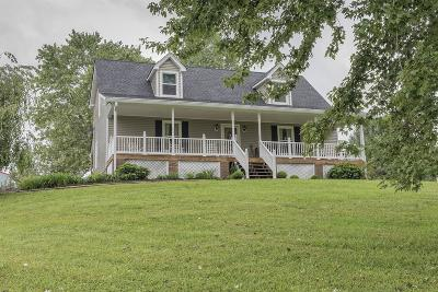 Robertson County Single Family Home Under Contract - Showing: 7357 Swift Road