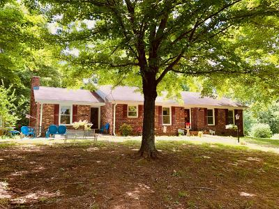 Columbia  Single Family Home For Sale: 1300 Nicholson Schoolhouse Rd