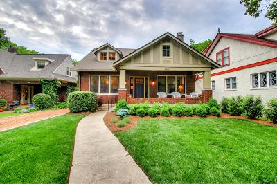 Nashville Single Family Home For Sale: 3520 Richardson Ave