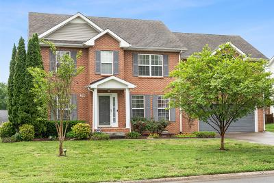 Clarksville Single Family Home For Sale: 3320 Sunny Slope Dr