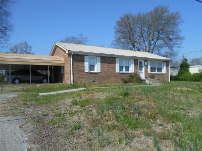 Lebanon Single Family Home For Sale: 1506 Sparta Pike