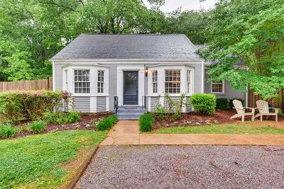 Green Hills Single Family Home For Sale: 907 Woodmont Blvd