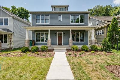 Nashville Single Family Home Under Contract - Showing: 4211 Utah Ave