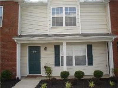 Murfreesboro Condo/Townhouse For Sale: 425 Shoshone Pl