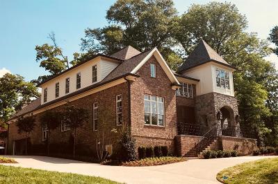 Nashville Single Family Home For Sale: 2802 Valley Brook Pl