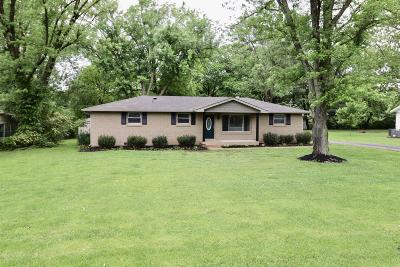 Smyrna Single Family Home Under Contract - Not Showing: 106 Rice Cir