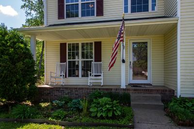 Clarksville Single Family Home Under Contract - Showing: 1567 Churchill Ct