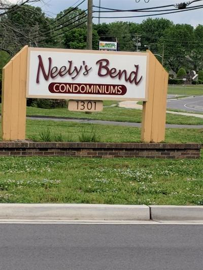 Davidson County Condo/Townhouse For Sale: 1301 Neelys Bend Rd # 15