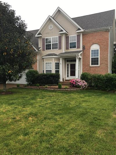 Thompsons Station Single Family Home For Sale: 1410 Saybrook Trl