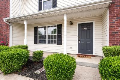 Lavergne Condo/Townhouse Under Contract - Showing: 955 Ruch Ln