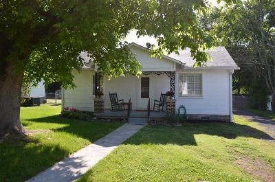 Watertown TN Single Family Home Under Contract - Not Showing: $119,000