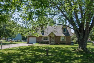 Clarksville Single Family Home For Sale: 400 Beasley Dr