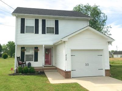 Murfreesboro Single Family Home Under Contract - Not Showing: 2708 Nugget Ct