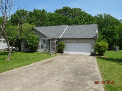 Lavergne Single Family Home Under Contract - Not Showing: 610 Angel Way Ct