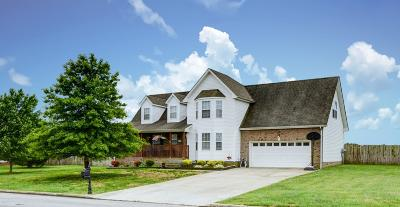 Adams, Clarksville, Springfield, Dover Single Family Home For Sale: 970 Glenhurst Way