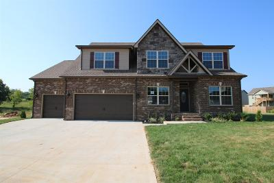 Clarksville Single Family Home Under Contract - Not Showing: 79 Griffey Estates