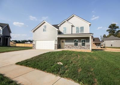 Christian County, Ky, Todd County, Ky, Montgomery County Single Family Home For Sale: 62 Sango Mills Lot 62