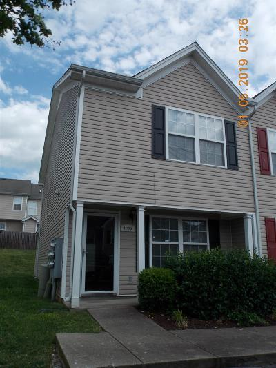 Lavergne Condo/Townhouse Under Contract - Not Showing: 4022 Cody Dr