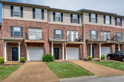 Williamson County Condo/Townhouse Active Under Contract: 7207 Rye Ct