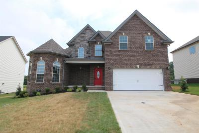 Clarksville Single Family Home For Sale: 279 The Groves At Hearthstone