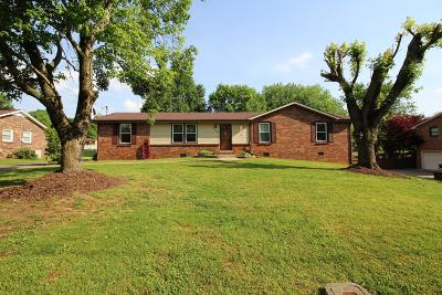 Clarksville Single Family Home Active Under Contract: 154 Concord W