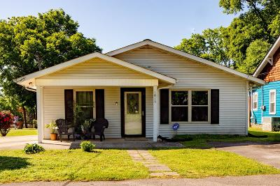 Inglewood Single Family Home Under Contract - Showing: 1416 McGavock Pike