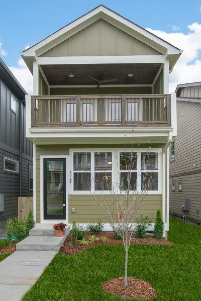 Nashville Single Family Home Under Contract - Showing: 1921 B 14th Ave N