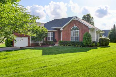 Clarksville Single Family Home Under Contract - Showing: 3341 Poplar Hill Rd