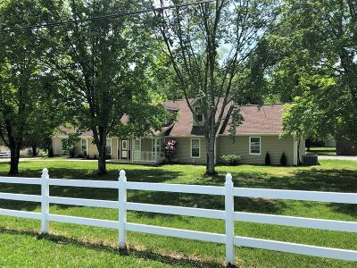 Lebanon Single Family Home For Sale: 8560 Coles Ferry Pike