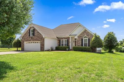 Adams, Clarksville, Springfield, Dover Single Family Home Under Contract - Not Showing: 1582 Rosebury Ln