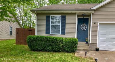 Clarksville Multi Family Home Under Contract - Not Showing: 272 Executive Ave