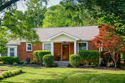 Green Hills Single Family Home For Sale: 959 Graybar Ln