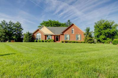 Clarksville Single Family Home Under Contract - Showing: 2572 Hedgerow Ln